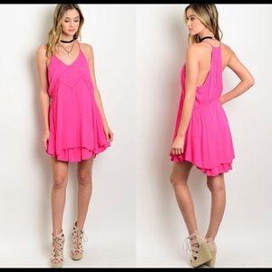New Sexy Little hot pink dress HOT HOT HOT